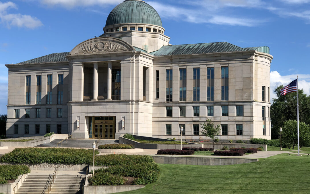Iowa Supreme Court to hear seven cases Wednesday and Thursday